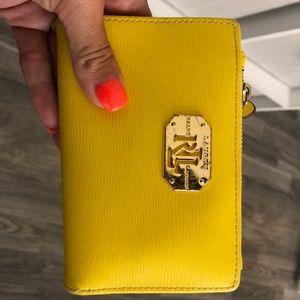 Lauren Ralph Lauren Small Yellow wallet